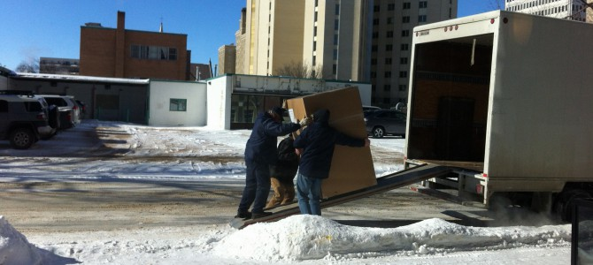 The Arrival of Our Container