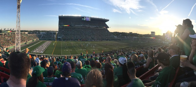 Roughriders vs Blue Bombers